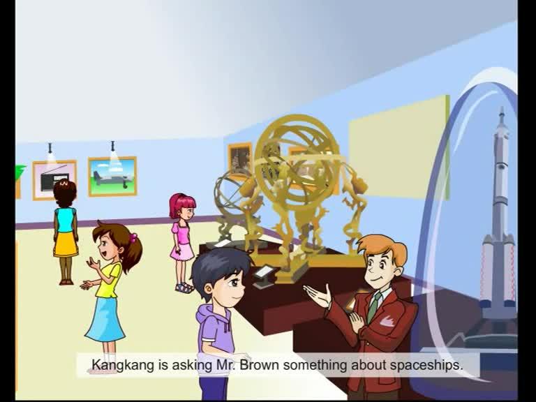 仁爱版九年级英语上册Unit 4 Topic 3 Section B(p99-1a)动画课文对话