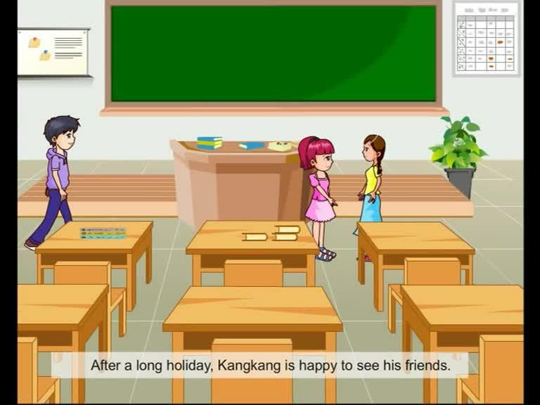 仁爱版九年级英语上册Unit 1 Topic 1 Section A(p1-1a)动画课文对话