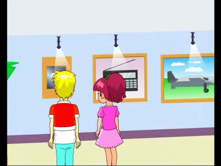仁爱版九年级英语上册Unit 4 Topic 1 Section B(p83-1a)动画课文对话