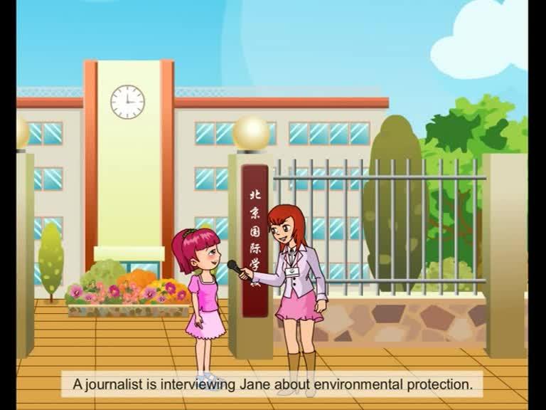 仁爱版九年级英语上册Unit 2 Topic 3 Section A(p43-1a)动画课文对话