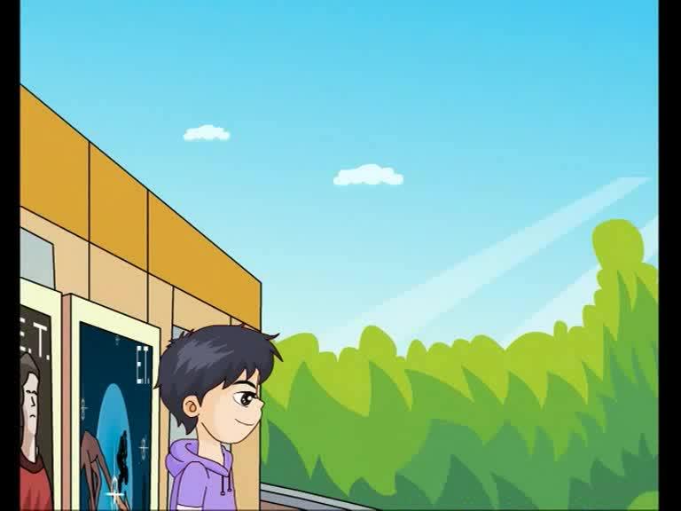 仁爱版九年级英语上册Unit 4 Topic 2 Section A(p89-1a)动画课文对话
