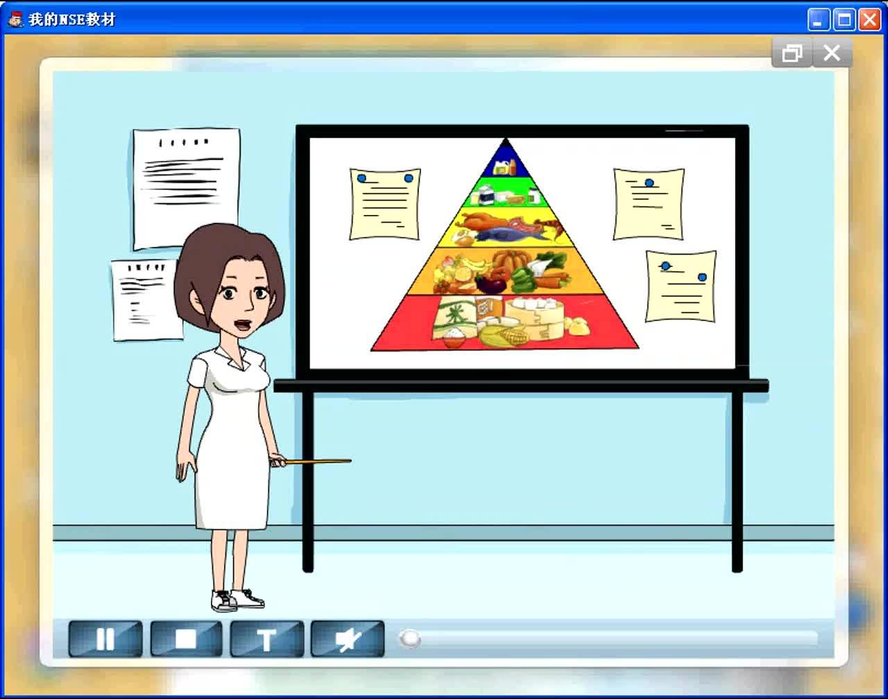 外研版英语七年级上Module4 Unit2-3动画课文录音